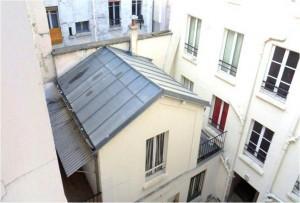 Intérieur Cote Cour Intérieur La Résidence  28, rue Affre   Paris – 18e  arrondissement - Nue-propriété