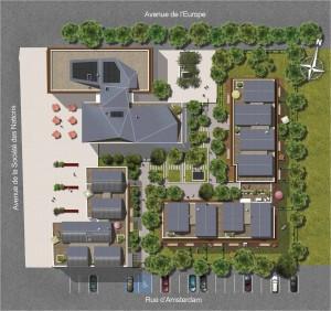 Plan de masse Montevrain votre investissement en nue-propriété