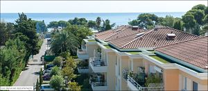 Villeneuve-Loubet vue depuis mon appartement